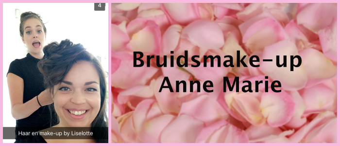 bruidsmake-up anne marie