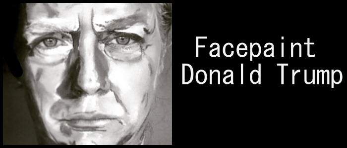 facepaint donald omslag