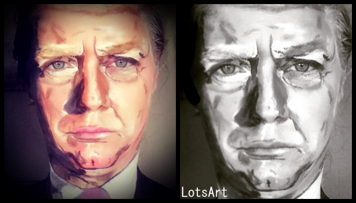 facepaint Donald Trump