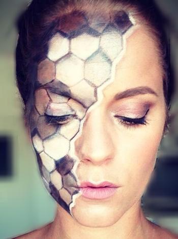 pattern facepaint