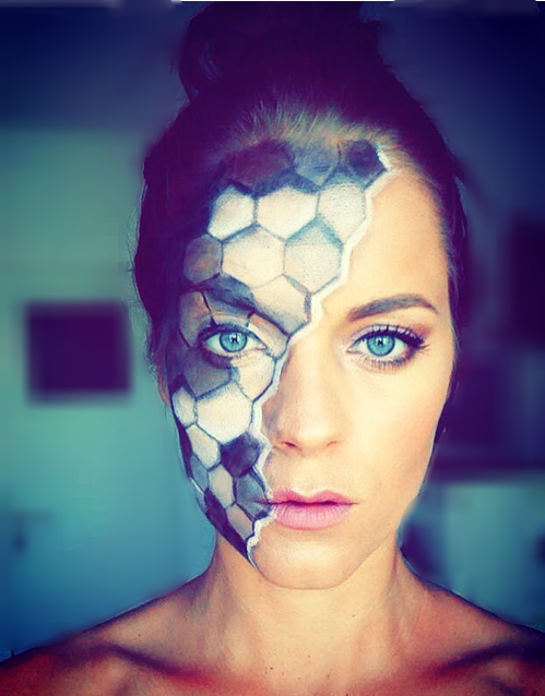 pattern facepaint