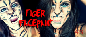 tiger facepaint halloween