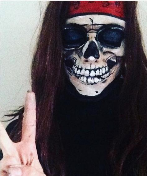 hippie skelet